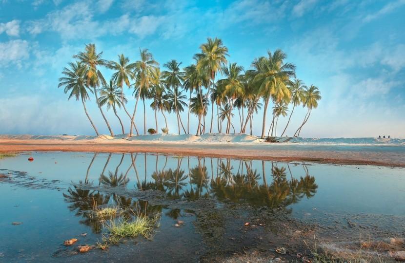 Salah Beach, az ománi Karib-tenger