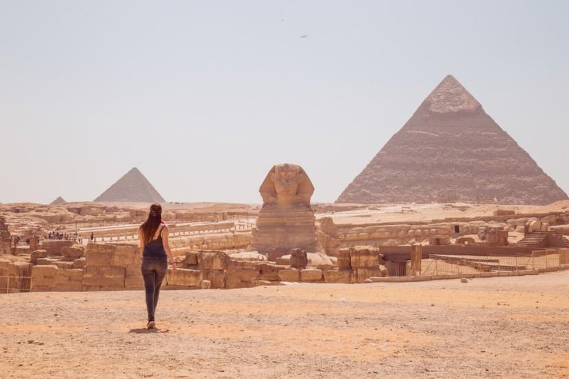 Kairó - Gízai piramisok és a Nagy szfinx
