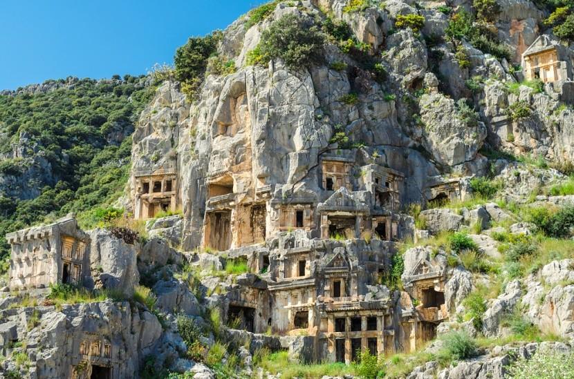 A török Myra városának varázsa