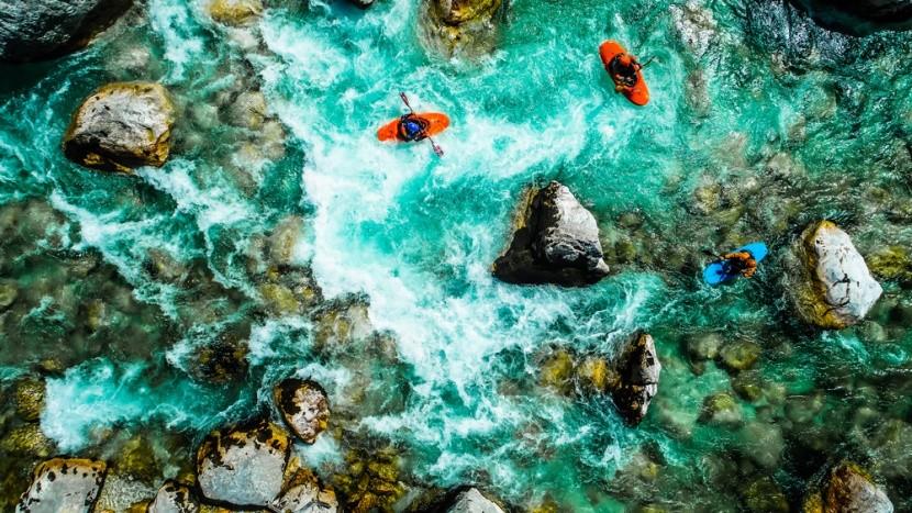 Szlovénia-rafting paradicsom
