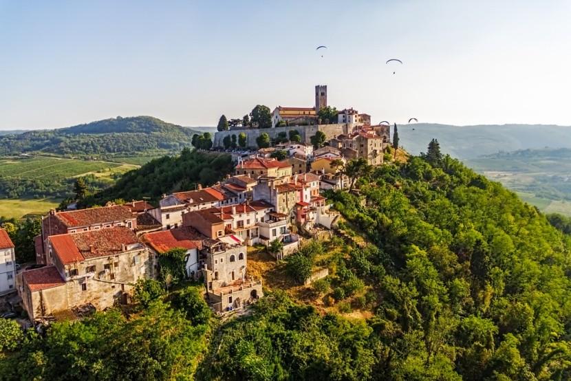 Belső-Isztria, Motovun középkori városkája