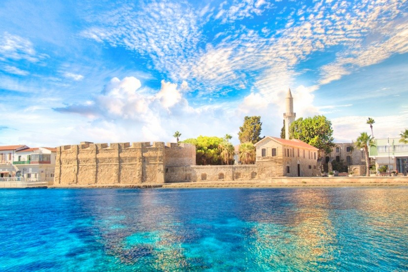 Ciprus, Larnaca, Tengerparti erőd