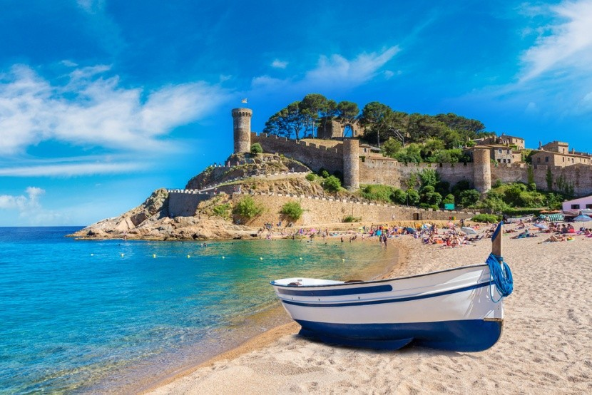 Spanyolország, Costa Brava, Tossa de Mar