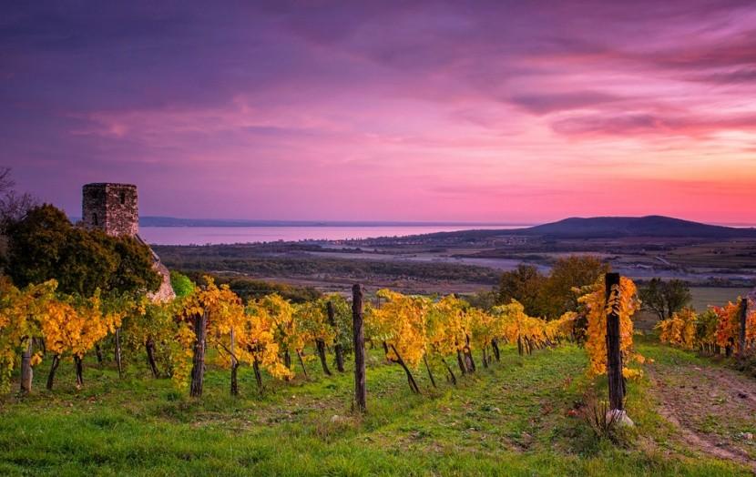 Balaton, ősz