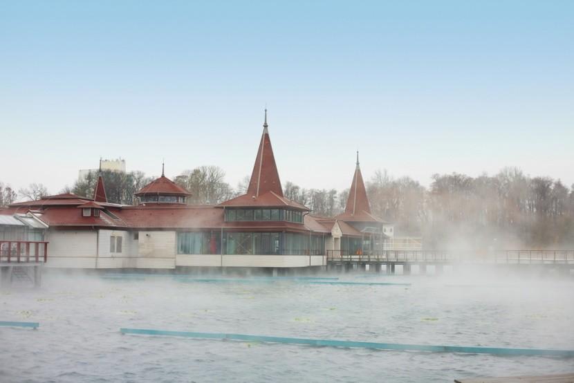 Hévízi-tó, Hévíz